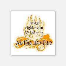 """Bonfire Square Sticker 3"""" x 3"""""""