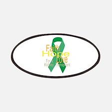 Faith,Hope,love For a Kidney Transplant Ribbon Pat