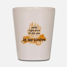 Bonfire Shot Glass