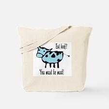 Eat Beef Tote Bag