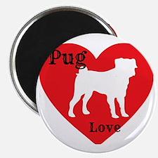 Pug Love Magnet