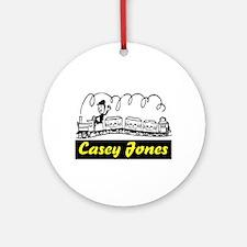 CASEY JONES Ornament (Round)
