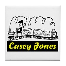 CASEY JONES Tile Coaster