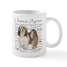 Lhasa Apso Traits Mugs