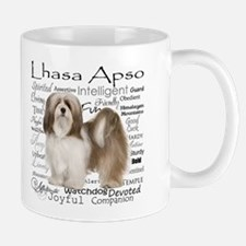 Lhasa Apso Traits Mugs