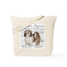 Lhasa Apso Traits Tote Bag