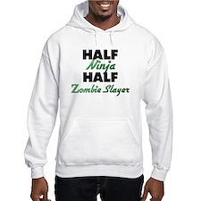 Half Ninja Half Zombie Slayer Hoodie