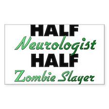 Half Neurologist Half Zombie Slayer Decal