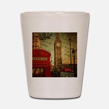 vintage London UK fashion  Shot Glass