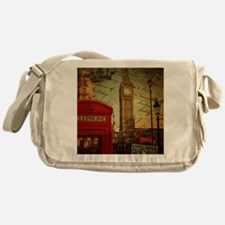 vintage London UK fashion  Messenger Bag