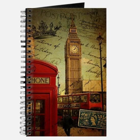 vintage London UK fashion  Journal