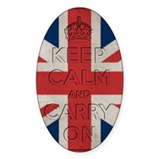 Keep Calm And Carry On Decal