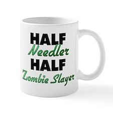 Half Needler Half Zombie Slayer Mugs