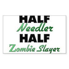 Half Needler Half Zombie Slayer Decal