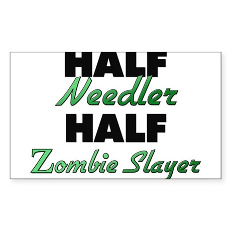 Half Needler Half Zombie Slayer Sticker