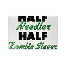 Half Needler Half Zombie Slayer Magnets