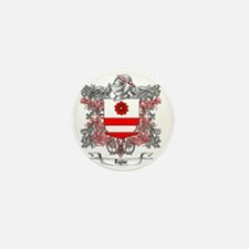 Taylor Family Crest 5 Mini Button