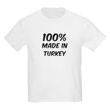 100 Percent Turkey Kids T-Shirt
