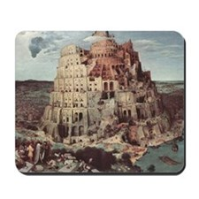 Tower of Babel by Pieter Bruegel Mousepad