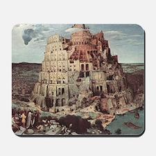 Tower of Babel by Pieter Bruegel Mousepad