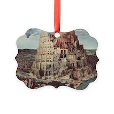 Tower of Babel by Pieter Bruegel Ornament