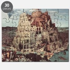 Tower of Babel by Pieter Bruegel Puzzle
