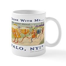 """""""Buffalo Glad Hand"""" Small Mugs"""