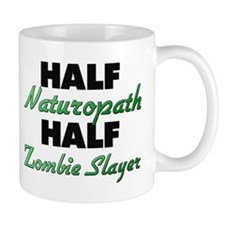Half Naturopath Half Zombie Slayer Mugs