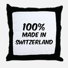 100 Percent Switzerland Throw Pillow