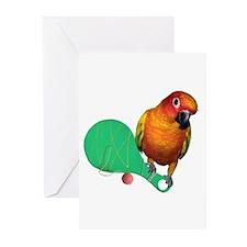 Unique Conure Greeting Cards (Pk of 10)