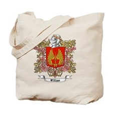 Williams Family Crest 3 Tote Bag