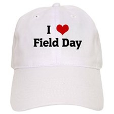 I Love Field Day Baseball Cap