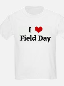 I Love Field Day Kids T-Shirt