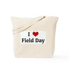 I Love Field Day Tote Bag