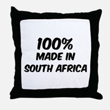 100 Percent South Africa Throw Pillow
