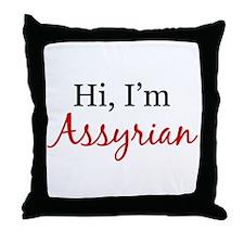 Hi, I am Assyrian Throw Pillow