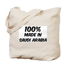 100 Percent Saudi Arabia Tote Bag