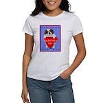 Valentine Saint Bernard Women's T-Shirt