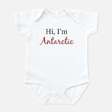 Hi, I am Antarctic Infant Bodysuit