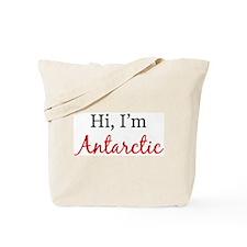 Hi, I am Antarctic Tote Bag