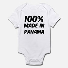 100 Percent Panama Infant Bodysuit