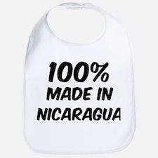 100 Percent Nicaragua Bib