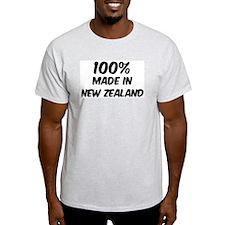 100 Percent New Zealand Ash Grey T-Shirt