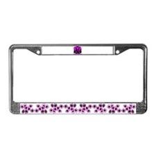 Stomp out cancer License Plate Frame
