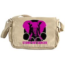Stomp out cancer Messenger Bag