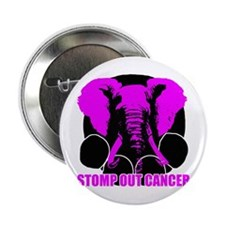 "Stomp out cancer 2.25"" Button"