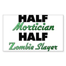 Half Mortician Half Zombie Slayer Decal