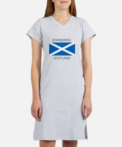 Edinburgh Scotland Women's Nightshirt