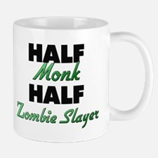Half Monk Half Zombie Slayer Mugs