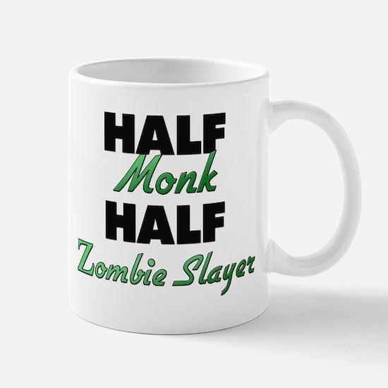 Half Monk Half Zombie Slayer Mugs